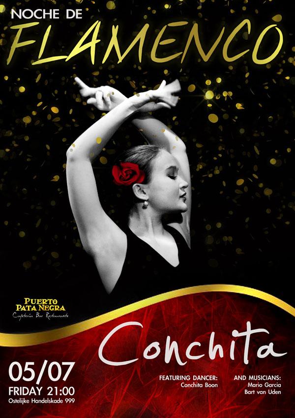 Poster Conchita in Puerto Pata Negra